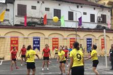 Chi nhánh Xí nghiệp đầu máy Yên Viên đạt giải Nhất giải bóng chuyền hơi nữ