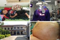 Một vòng bệnh viện: Người phụ nữ Mỹ có khối u kỷ lục 60kg
