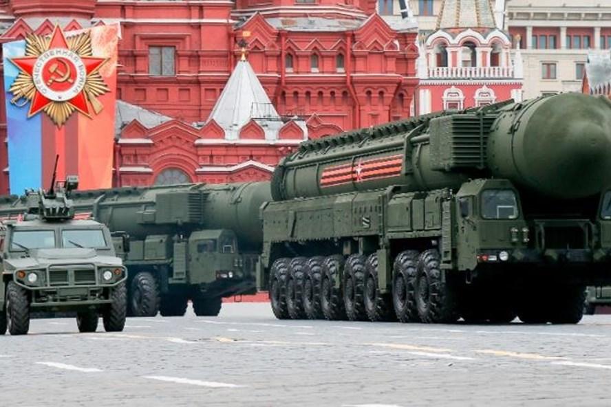 Tên lửa đạn đạo liên lục địa YARS. Ảnh: CNN