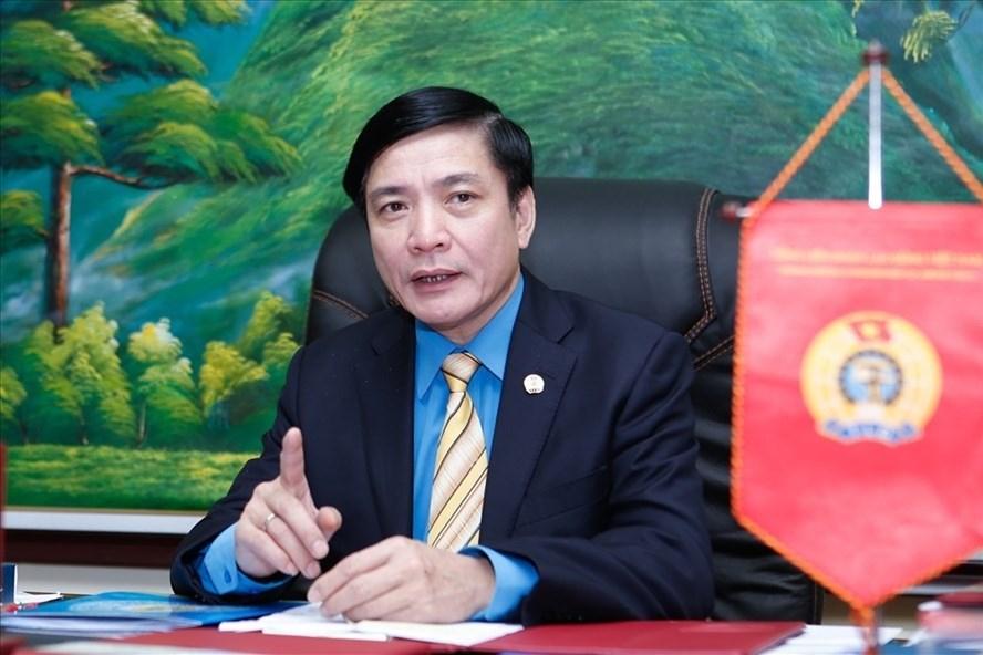 Đồng chí Bùi Văn Cường - Phó Chủ tịch Liên hiệp Công đoàn Thế giới, Ủy viên Trung ương Đảng, Chủ tịch Tổng LĐLĐVN.