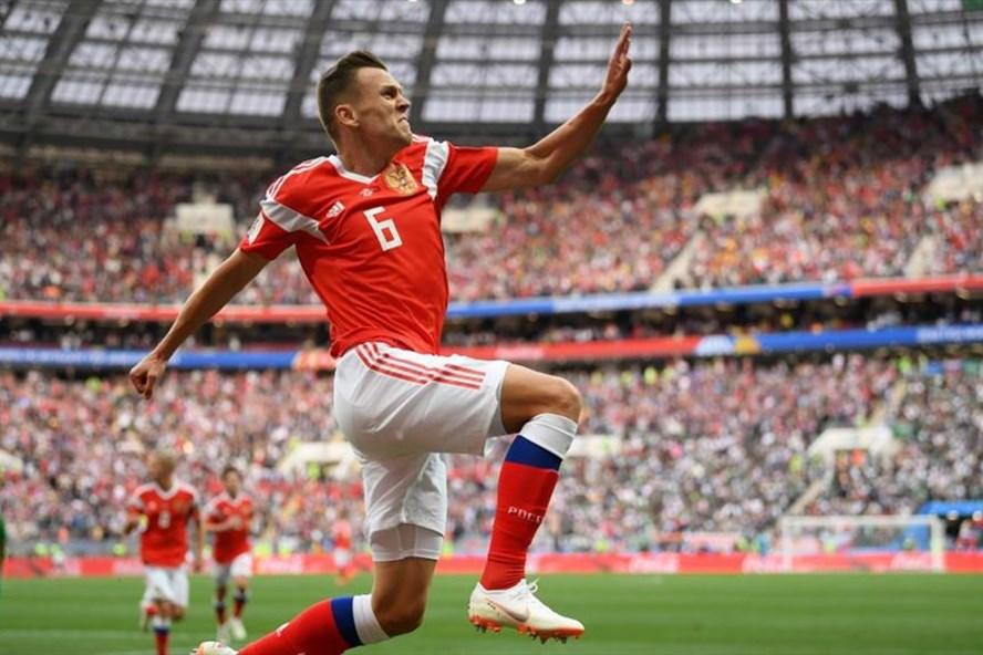 [LIVE] Nga - Saudi Arabia 3-0: Cầu thủ vừa vào thay người lập công - ảnh 1