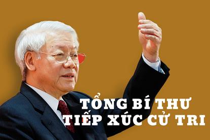 Infographic: Những câu nói ấn tượng của Tổng bí thư Nguyễn Phú Trọng trong buổi tiếp xúc cử tri ngày 17.6