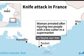 """Một phụ nữ hô vang """"Thánh Allah vĩ đại"""" khi tấn công bằng dao ở Pháp"""