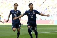 Video: Chơi hơn người, Nhật Bản đánh bại Colombia 2 - 1