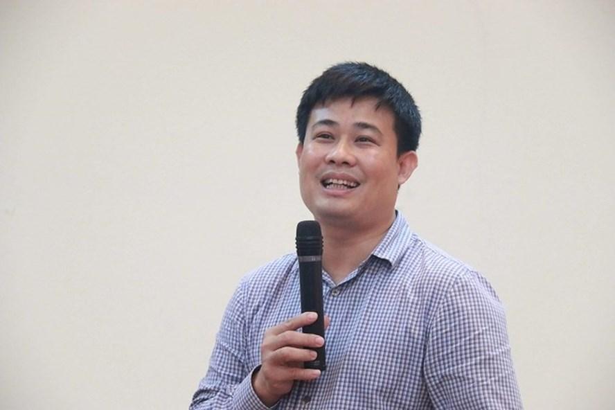 TS Sái Công Hồng - Phó Cục trưởng Cục Quản lý Chất lượng, Bộ GDĐT. Ảnh Thanh Hùng