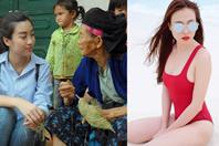Nóng nhất showbiz: Đỗ Mỹ Linh giản dị đi từ thiện, người đẹp chuyển giới đăng quang Hoa hậu