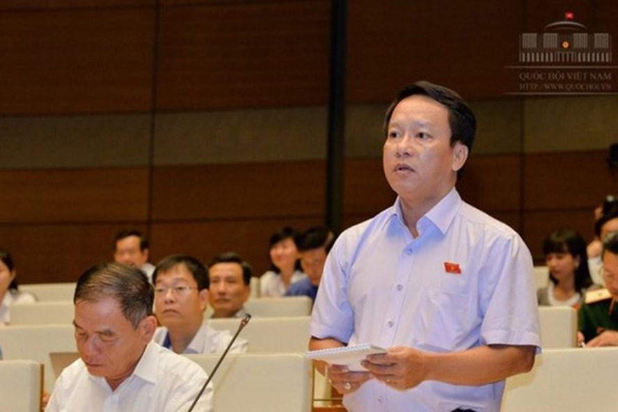 Đại biểu Thái Trường Giang. Ảnh: Quochoi.vn
