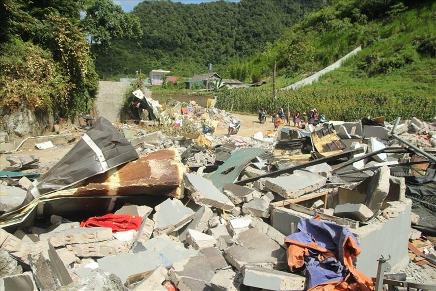 Nhà của trùm ma túy Nguyễn Thanh Tuân. Ảnh: Cường Ngô