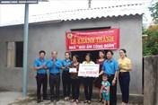 LĐLĐ Hà Tĩnh hỗ trợ 110 triệu đồng làm 3 nhà Mái ấm Công đoàn