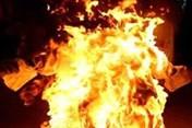 Người phụ nữ chết cháy nghi do tự tử