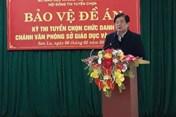 Điểm thi bất thường ở Sơn La: Giám đốc Sở Giáo dục Đào tạo nói không có bất thường
