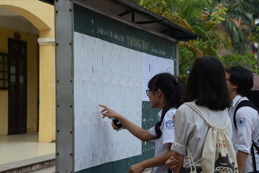 Hà Nội công bố tuyển bổ sung nhiều nguyện vọng vào lớp 10, lớp 6. Ảnh: Huyên Nguyễn