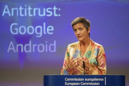 EU phạt Google mức kỷ lục 5 tỉ USD vì phạm luật chống độc quyền
