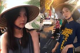 Nghệ sĩ Hàn mặc áo dài hút thuốc khiến fan Việt phẫn nộ