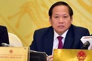 Tạm đình chỉ công tác Bộ trưởng Thông tin và Truyền thông đối với ông Trương Minh Tuấn