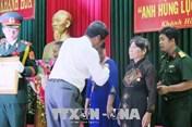 Phong tặng và truy tặng 35 Mẹ Việt Nam Anh hùng