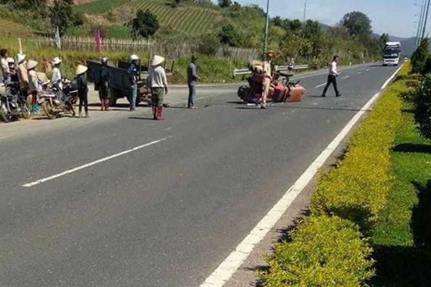 Vụ tai nạn làm 1 người tử vong, 21 người địa phương phải cấp cứu. Ảnh minh họa