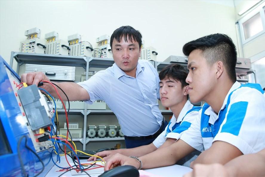 80% số học viên trường nghề ra trường có việc làm đúng ngành. Ảnh: HẢI NGUYỄN