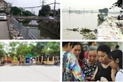 """Tin tức Hà Nội 24h: Ứng phó với bão số 4, lo ngại sự cố đê sông Bùi; Ý tưởng """"hồi sinh dòng sông chết"""""""