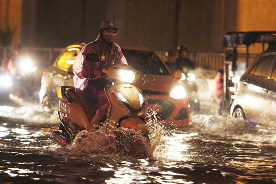 Đợt mưa lớn ở Bắc Bộ có khả năng kéo dài đến hết ngày 5.8. Ảnh: Tô Thế