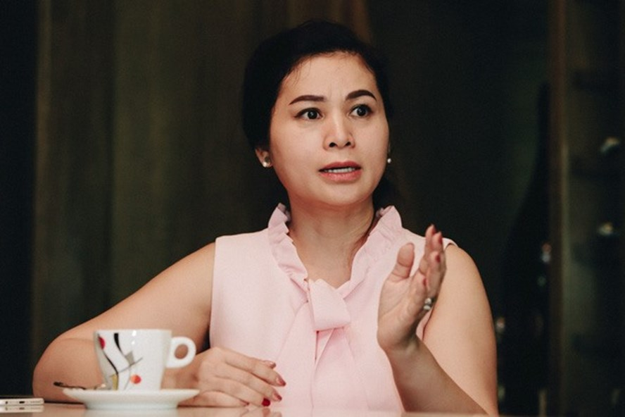 Bà Lê Hoàng Diệp Thảo. Ảnh: CafeF