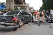 Nguyên nhân dẫn đến vụ tài xế BMW gây tai nạn liên hoàn ở Hà Nội