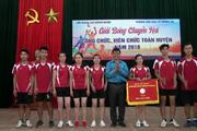 Cao Bằng: 400 CNVCLĐ tham gia giải bóng chuyền hơi huyện Trùng Khánh