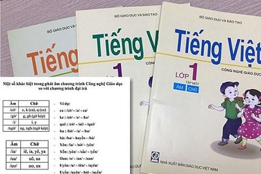 """Đến nay, không chỉ giới ngôn ngữ, mà giáo viên vẫn còn quan điểm trái chiều về tài liệu """"Tiếng Việt lớp 1- Công nghệ giáo dục""""."""