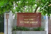 Thí sinh ở Sơn La dẫn đầu top thí sinh điểm cao đỗ Học viện Kỹ thuật Quân sự