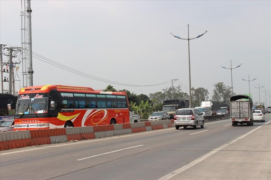 Đường dẫn cao tốc TPHCM - Trung Lương.