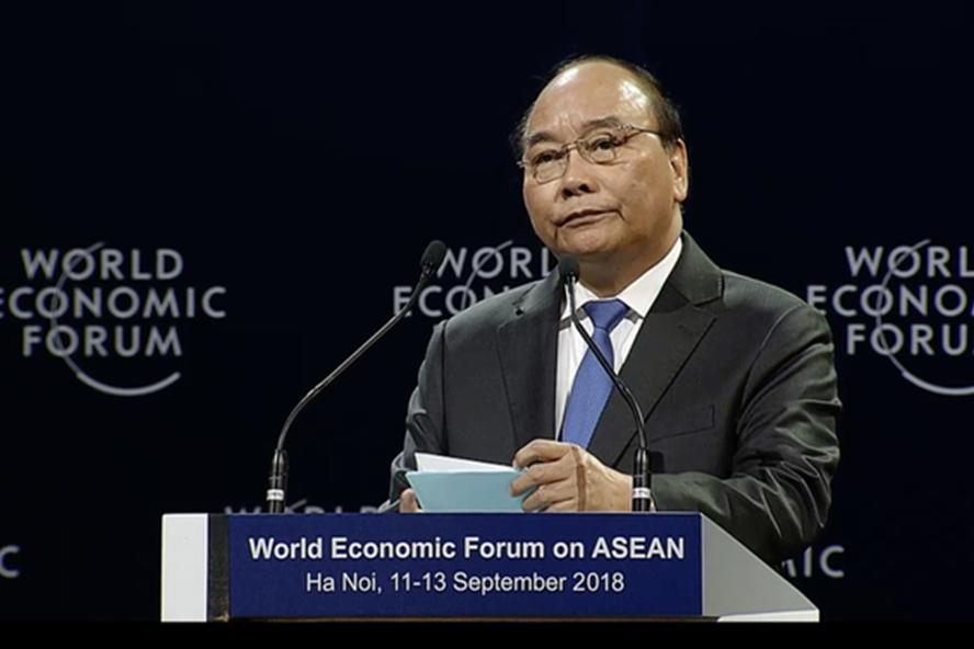 Thủ tướng Nguyễn Xuân Phúc. Ảnh: Hồng Nguyễn.