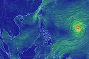 Cập nhật mới nhất: Siêu bão Mangkhut duy trì sức gió giật cấp 17 và bão số 5 Barijat cấp 10