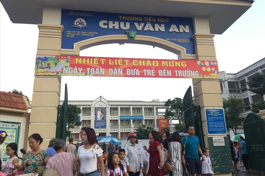 Tiểu học Chu Văn An. Ảnh: Nguyễn Hà