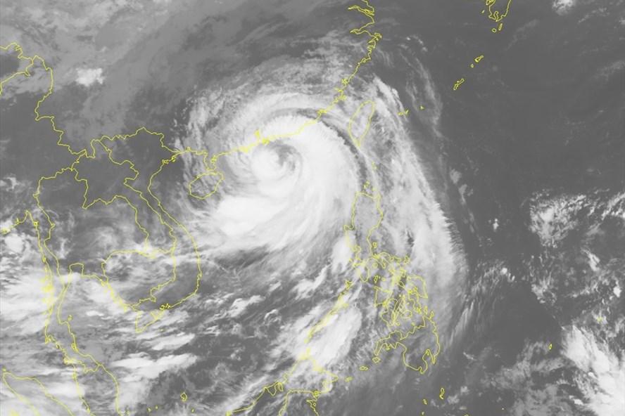 Hình ảnh vệ tinh bão số 6 Mangkhut