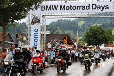 BMW Motorrad Days tại Garmisch-Partenkirchen (Đức).