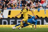 Dortmund có trận hòa bạc nhược trên sân của Hoffenheim