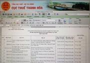 Cty CP bóng đá  FLC Thanh Hoá đứng đầu danh sách nợ đọng thuế ở Thanh Hoá