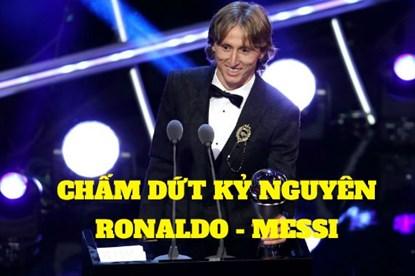 Khoảnh khắc Luka Modric nhận giải FIFA The Best, chấm dứt kỷ nguyên thống trị của Ronaldo và Messi