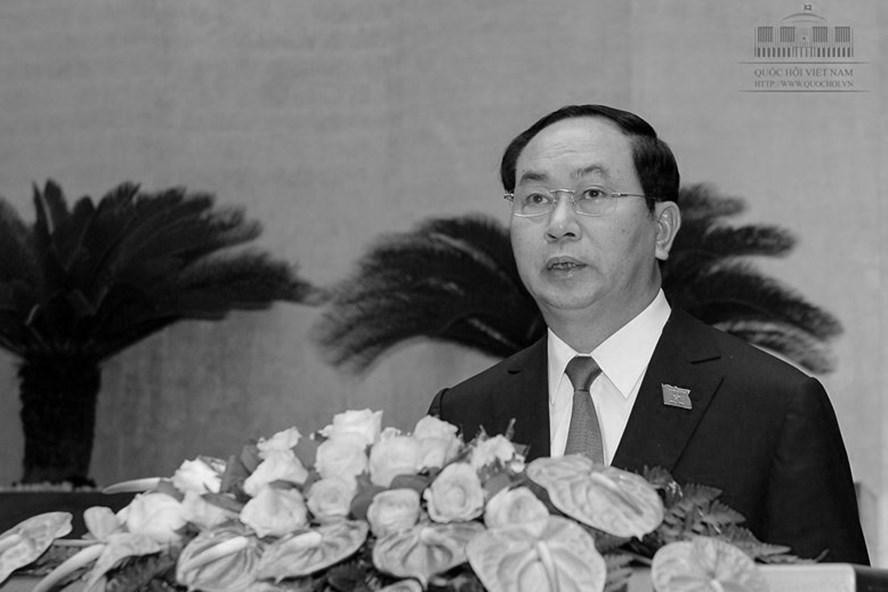 Chủ tịch Nước Trần Đại Quang. Ảnh: Quoc Hoi.