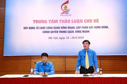 [LIVE] Ngày làm việc thứ ba Đại hội Công đoàn Việt Nam lần thứ XII: Thảo luận tại 12 trung tâm