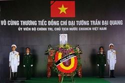 Ninh Bình: Lễ viếng Chủ tịch Nước Trần Đại Quang tại quê nhà