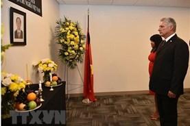 Nhiều nguyên thủ viếng Chủ tịch Nước Trần Đại Quang tại Liên Hợp Quốc