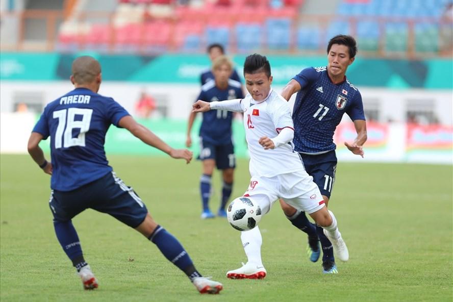"""Tiền vệ Quang Hải được AFC gọi là """"Cậu bé vàng"""" của bóng đá Việt Nam. Ảnh: Đ.Đ"""