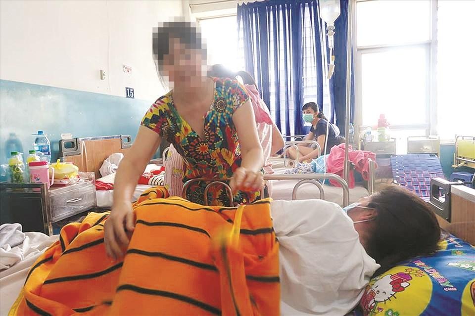 Số ca nhập viện vì bệnh sởi đang gia tăng chưa có dấu hiệu ngừng.