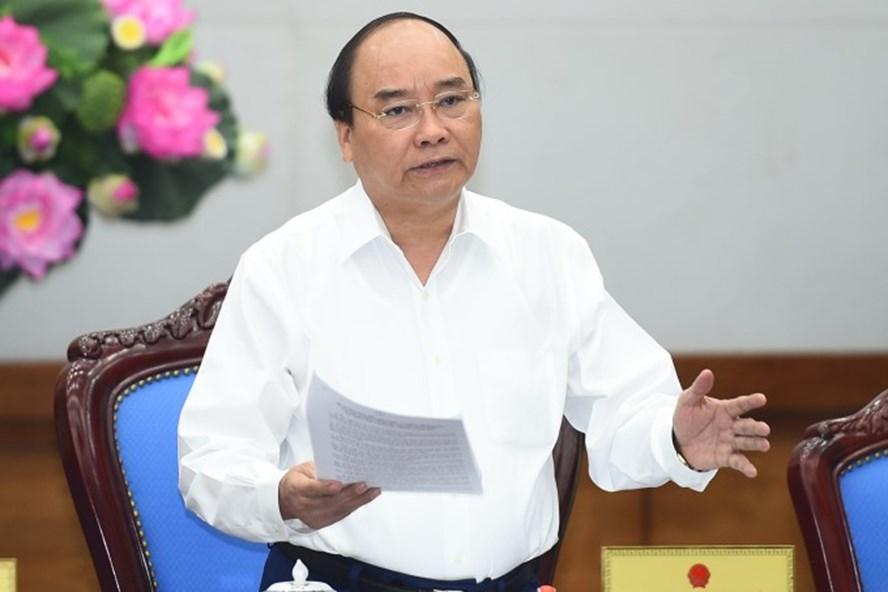 Thủ tướng Chính Phủ Nguyễn Xuân Phúc. Ảnh: Chinhphu.vn