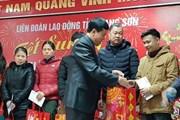 LĐLĐ tỉnh Lạng Sơn: Trao 148 suất quà tại Tết Sum vầy năm 2019