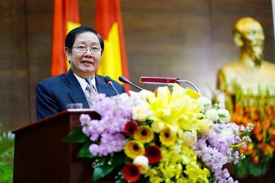Bộ trưởng Bộ Nội vụ Lê Vĩnh Tân. Ảnh: Gia Khánh/SGGP