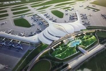 Đồ họa dự án sân bay Long Thành