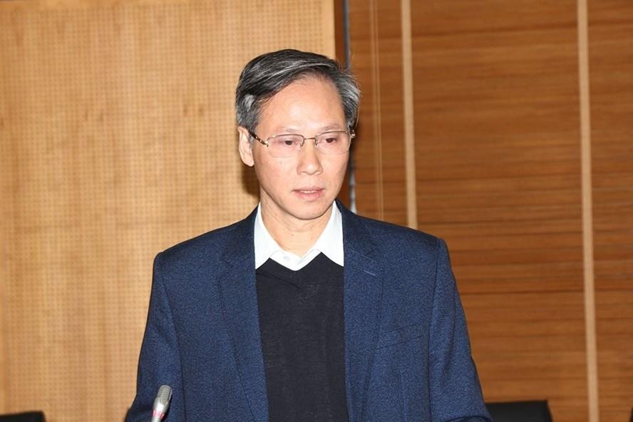 Vụ trưởng Vụ Chính quyền Địa phương- Bộ Nội vụ Phan Văn Hùng. Ảnh: Thùy Linh