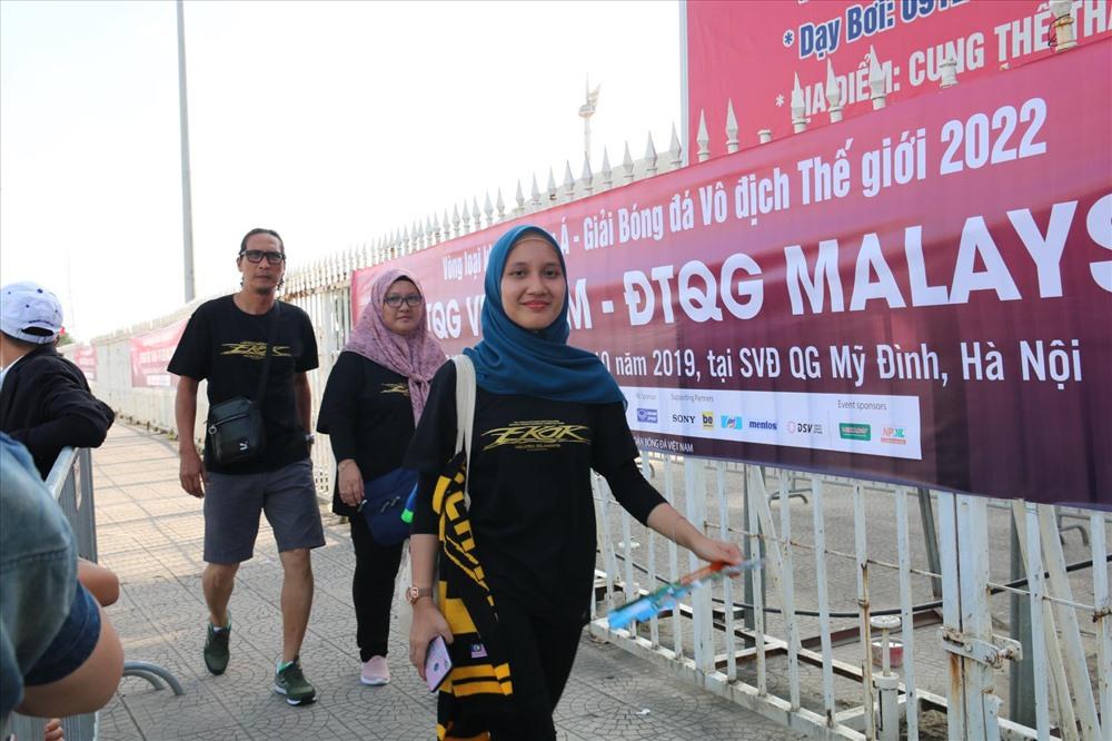 CĐV Malaysia cũng đã có mặt ở sân để cổ vũ đội nhà.